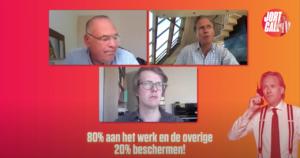 Jort, Maarten Boudry en Robin Fransman in JortCall